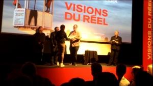 Ilona reçoit le Prix du Public du Concours REFLEX 2016